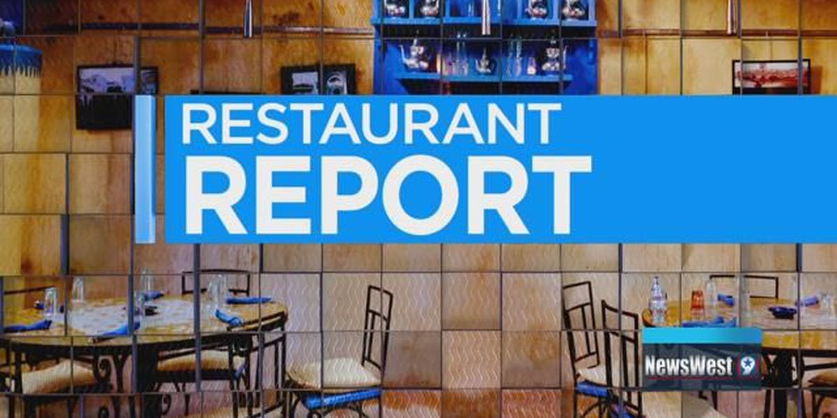 Restaurant Report - Angelina County - 10/25/18