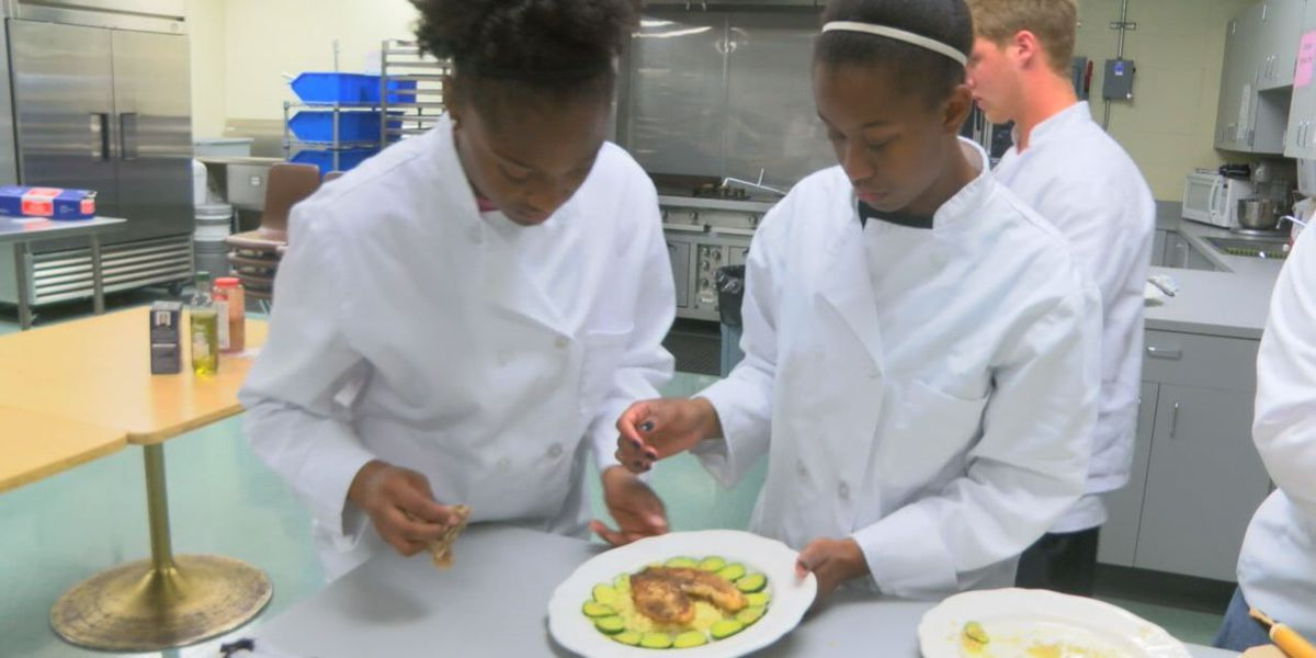 Lufkin culinary students compete for spot at SFA cooking competition