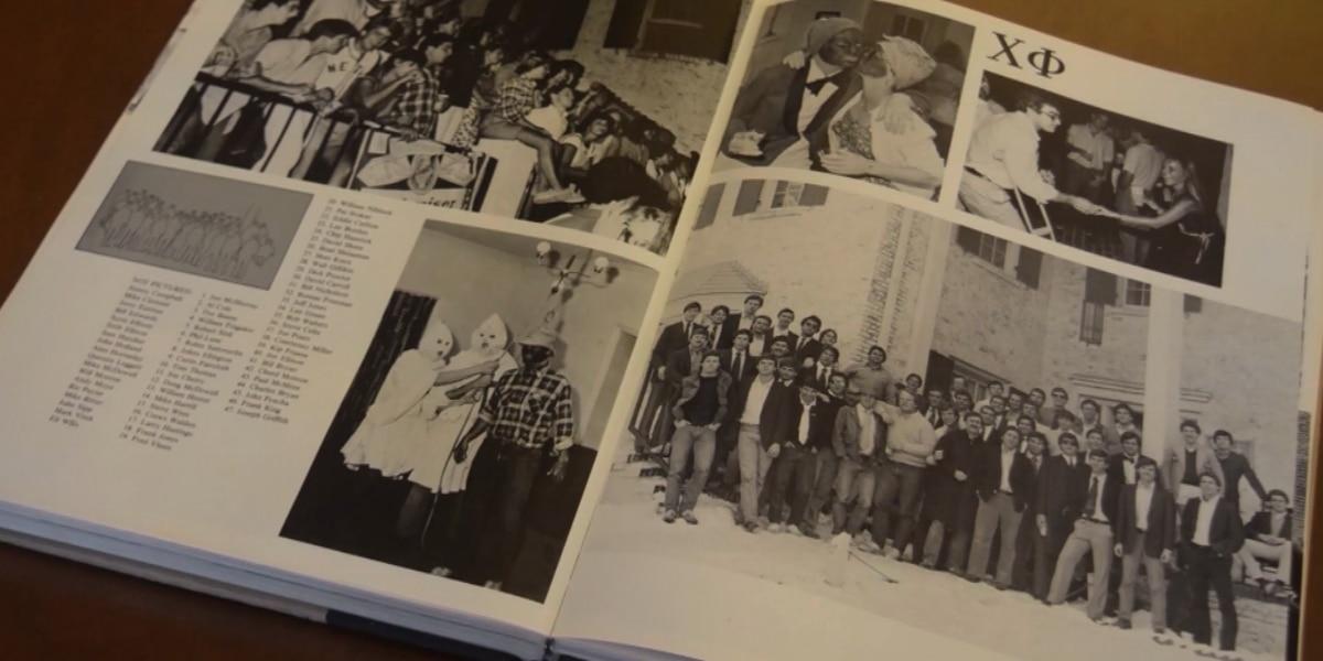UNC officials condemn blackface, Klan photos in school yearbook