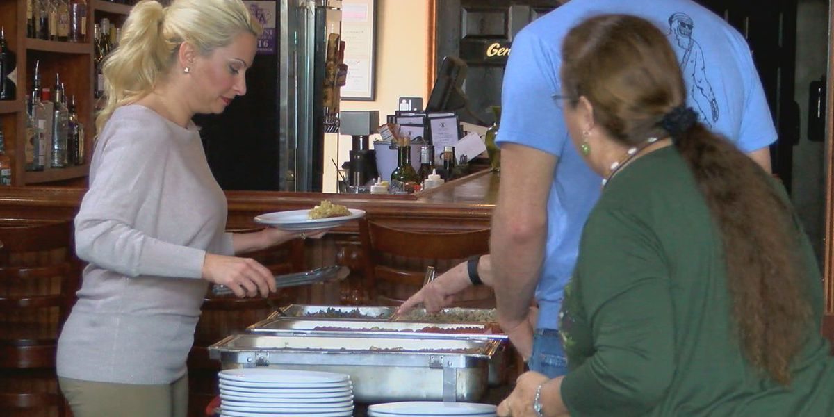 Liberty Bell hosts pay-what-you-can Christmas buffet
