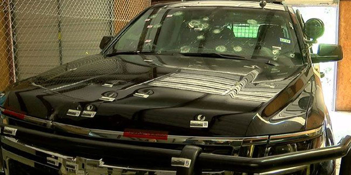 ACSO patrol vehicle hit 69 times during fatal six-hour standoff