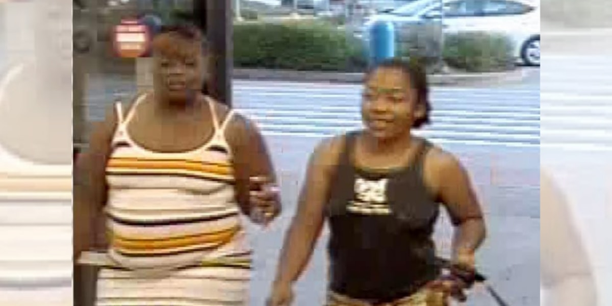 Police searching for two suspects who allegedly stole items from Livingston business