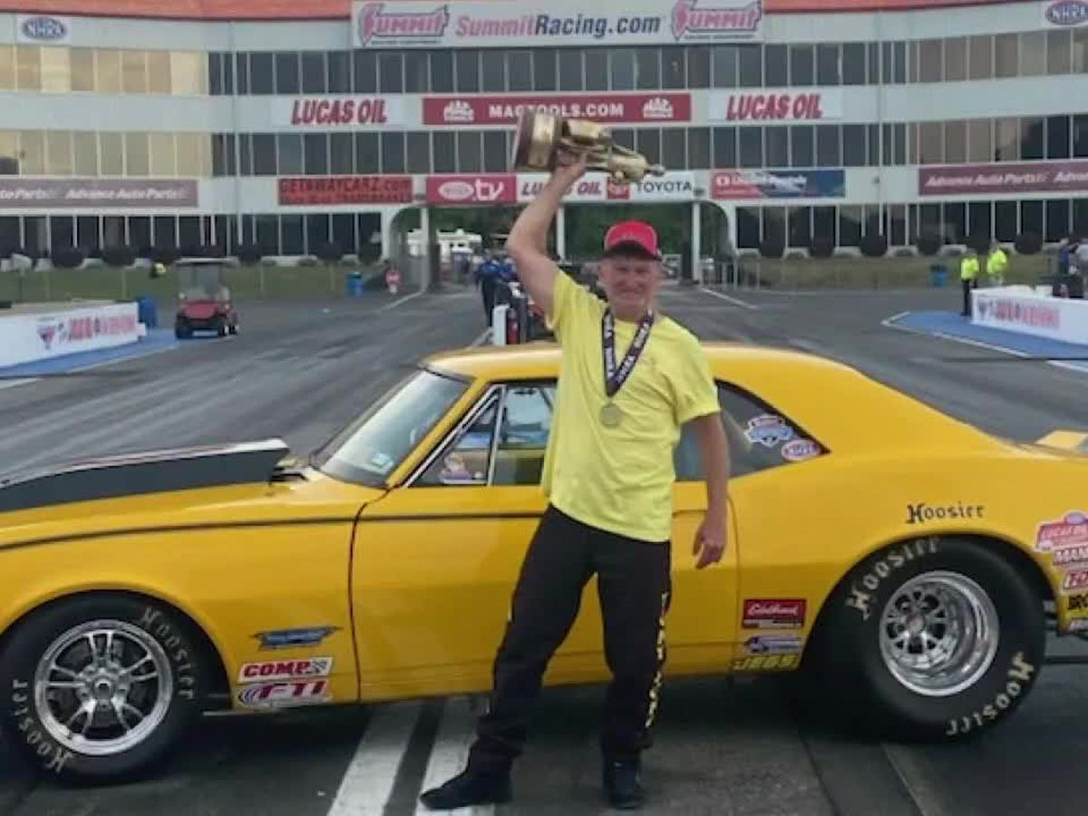 East Texas racer wins final NHRA racetrack title