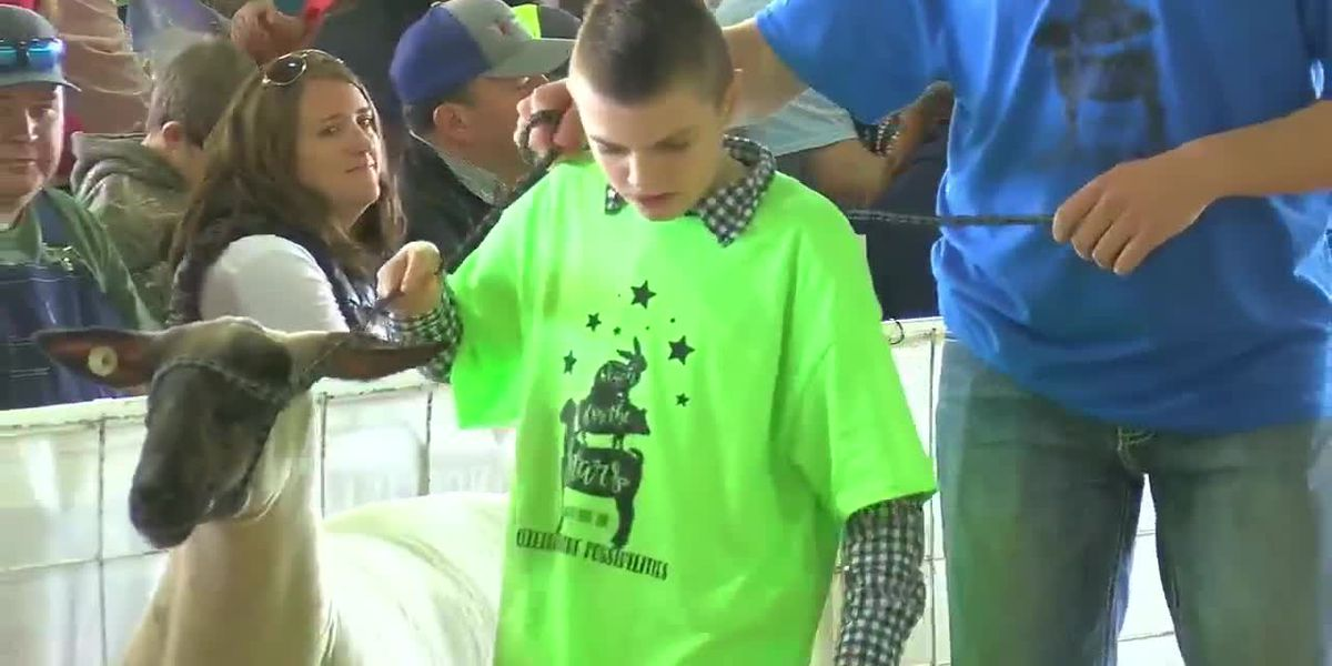 Special needs kids show animals in first-ever event at Angelina Youth Fair