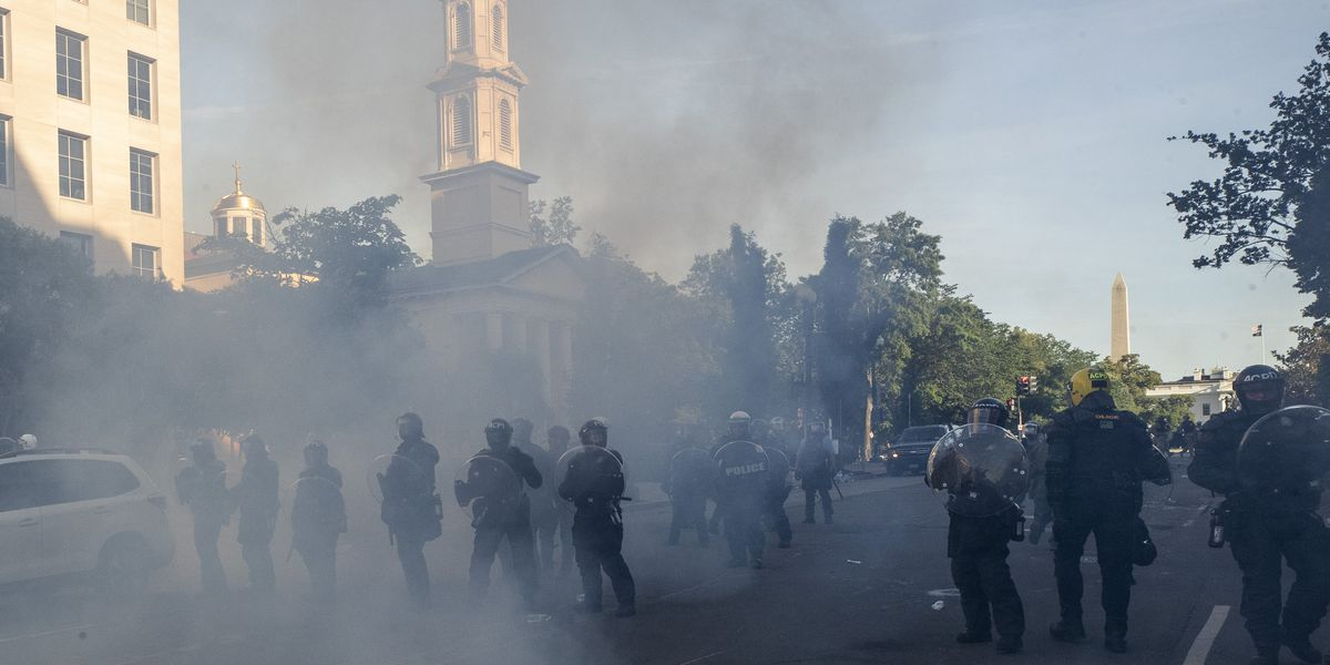 Military police inquired about heat rays for use on White House protesters