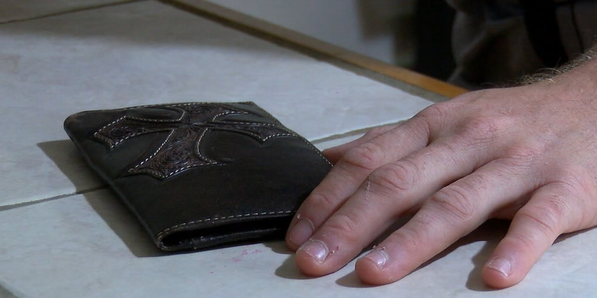Nacogdoches man working to replace belongings after wallet was stolen