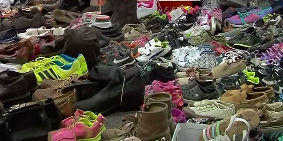 Dane Shaw's memory honored with shoe drive, fun day in Nacogdoches