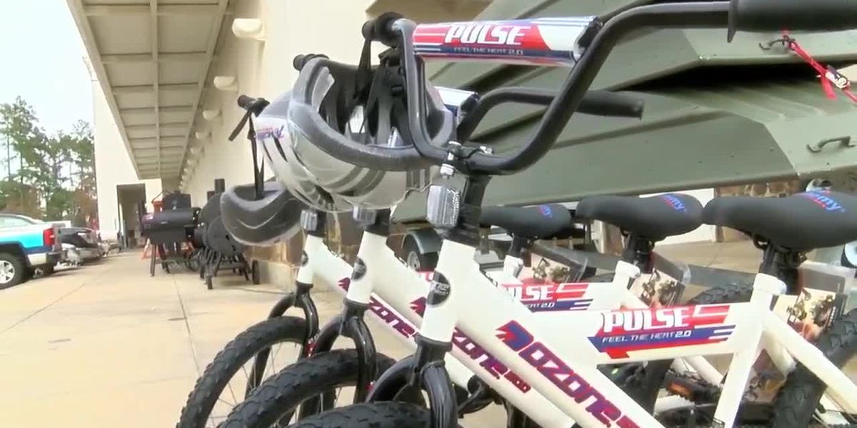 Tyler PD and Academy team up for the 17th Bike and Helmet Giveaway
