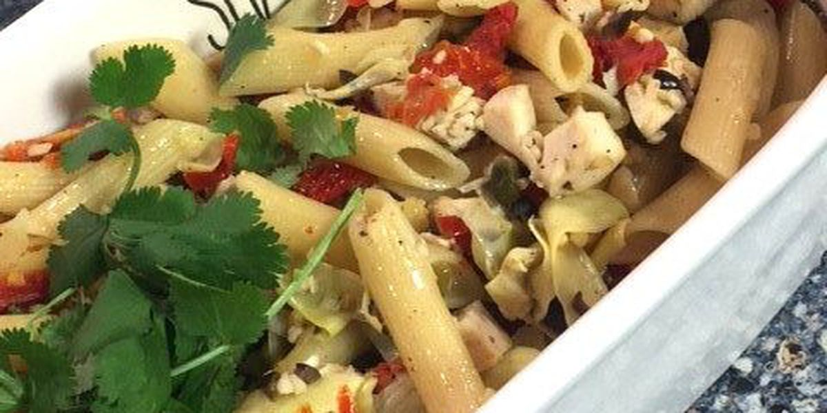 Mediterranean Chicken and Pasta by The Potpourri House