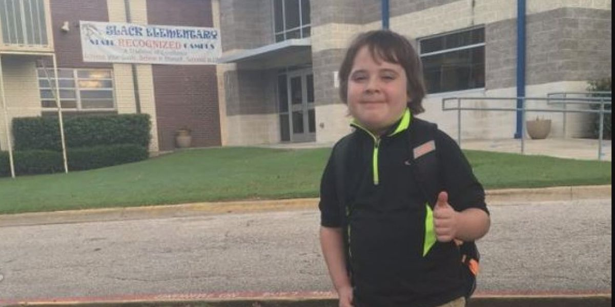 Lufkin student goes from death's doorsteps to back in the classroom