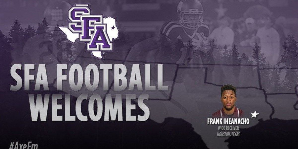 Coach Conque announces addition of Frank Iheanacho to Lumberjack roster