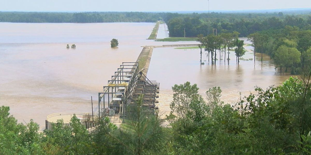 Tyler County flooding rises with release of dam waters