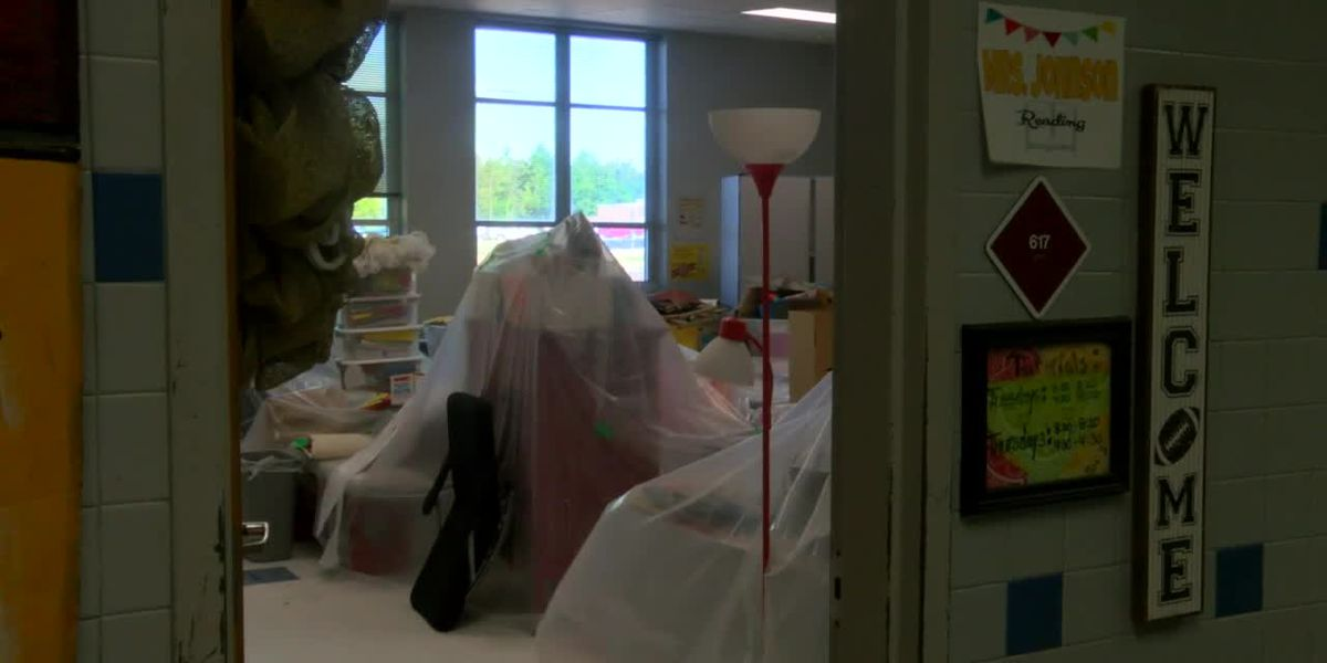 WebXtra: McMichael Middle School flooding forces virtual learning