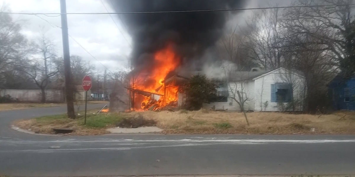 Stolen vehicle crashes into house, house catches fire; one person dead