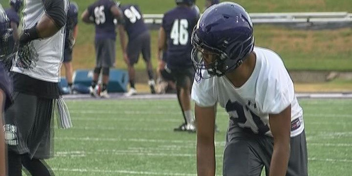 Kansas State transfer shines day one of SFA football practice