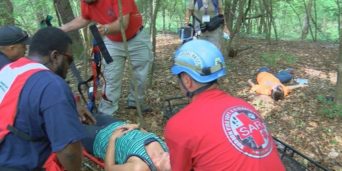 Hudson VFD host special search and rescue training