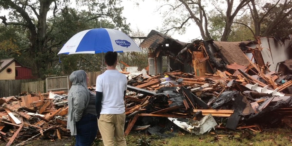 'Thankful' mother of 3 recalls Lufkin student waking her as fire destroyed home