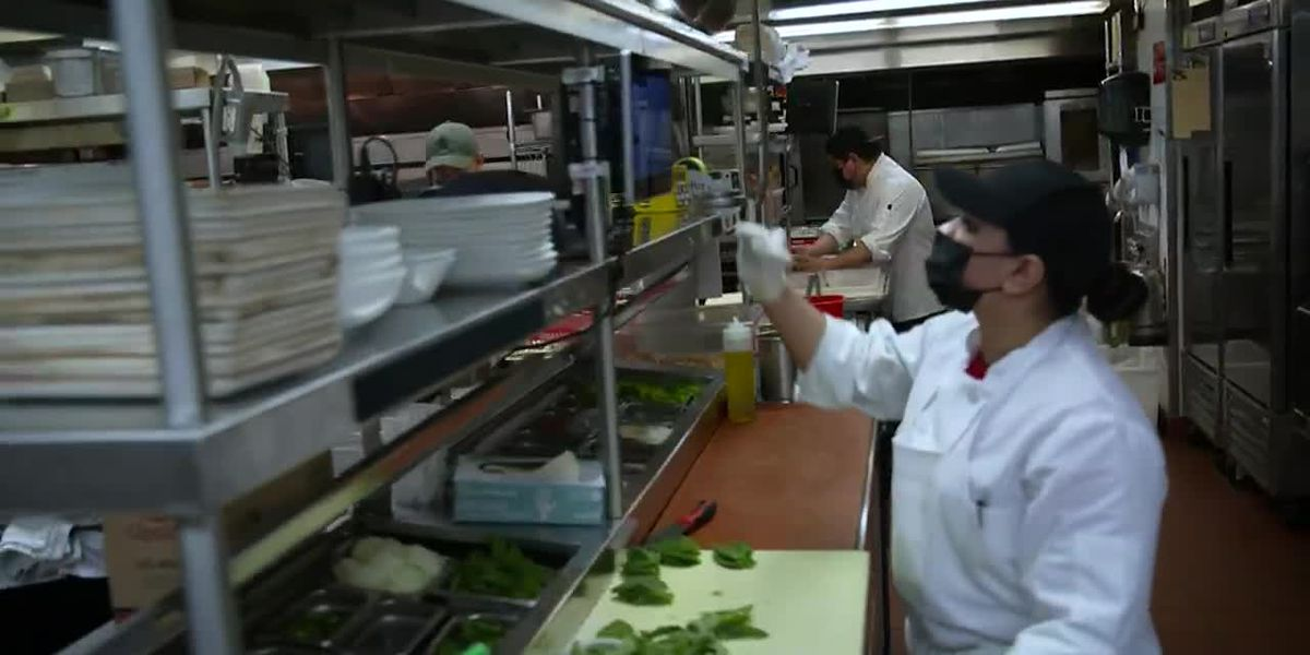 Some restaurant owners claim they're having trouble finding workers during the pandemic