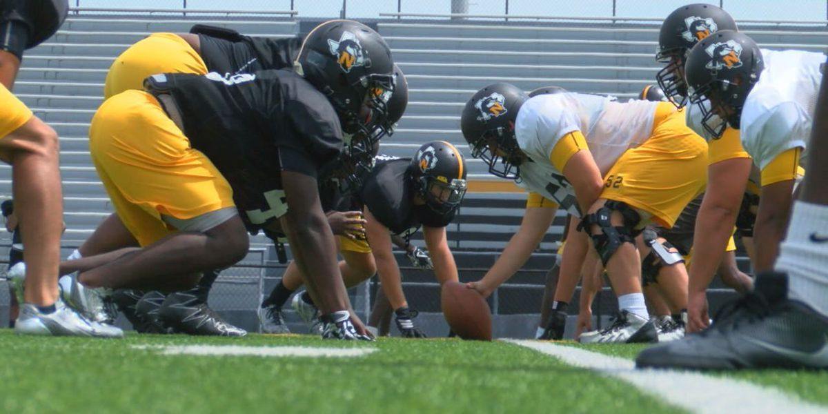 Nacogdoches Dragons staying positive through tough non-district schedule