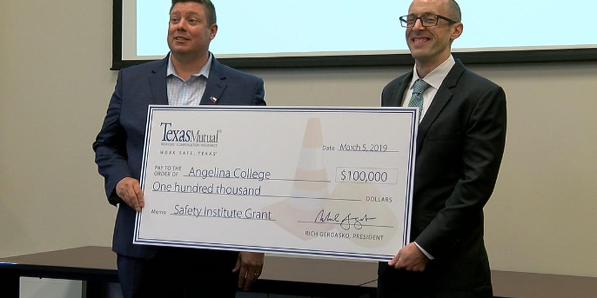 Angelina College awarded $100,000 grant toward risk management training