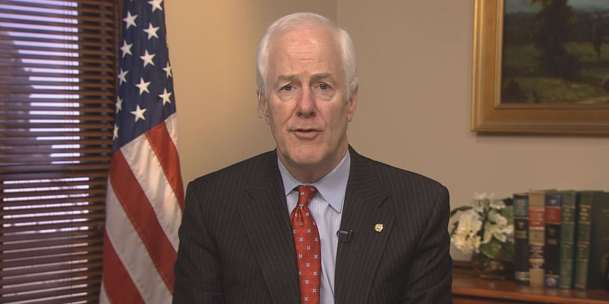 WATCH: Sen. Cornyn visits Komatsu in Longview to discuss new law