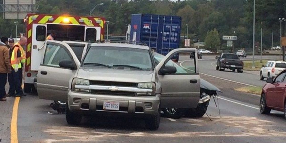 1 man arrested after two-vehicle wreck on Lufkin loop