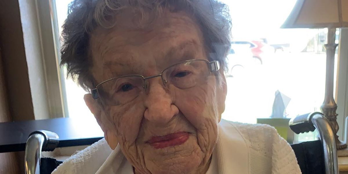 West Texas family celebrates 104th birthday through window at nursing home