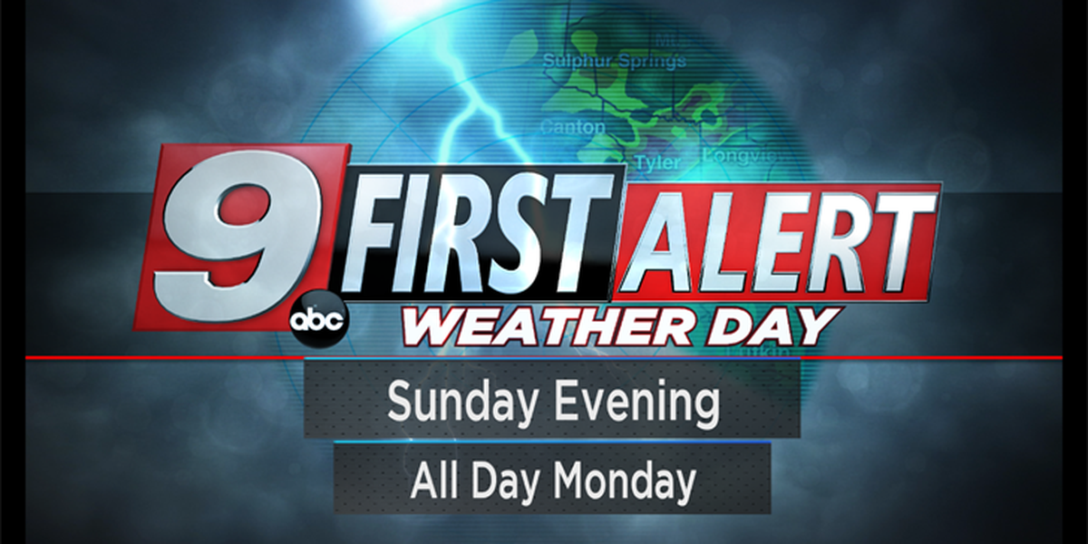 First Alert: Heavy rain and stormy weather on tap for the Memorial Day observance weekend