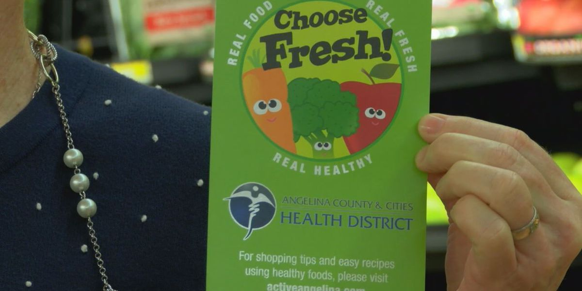 Angelina Health District launches new healthy eating campaign