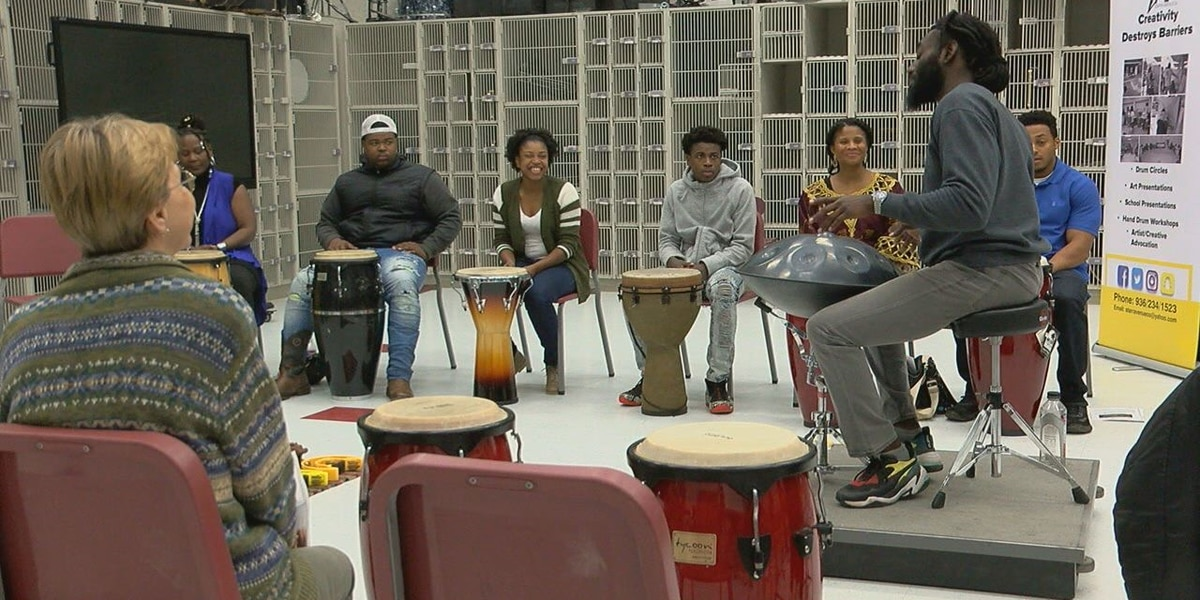 Hand drum class provides education and joy for participants
